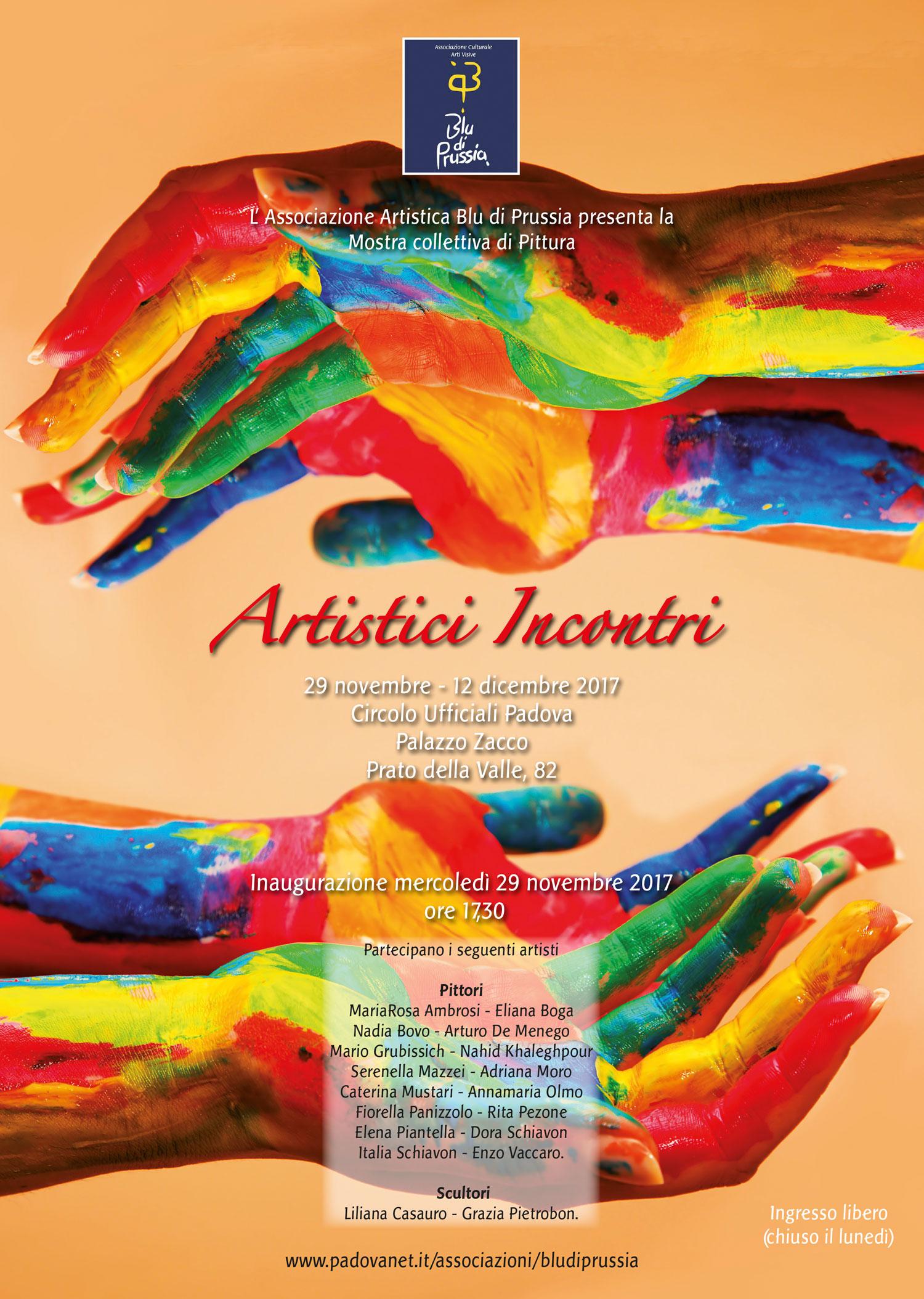Associazione blu di prussia chi siamo for Mostre pittura 2017