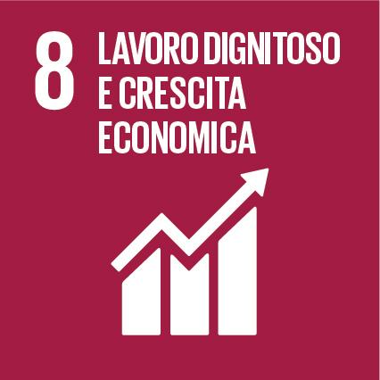 8 Lavoro dignitoso e crescita economica