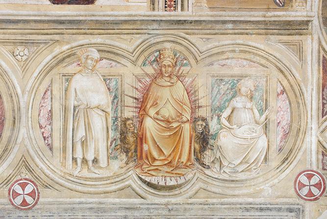04 Padova Urbs picta - Chiesa dei santi Filippo e Giacomo agli Eremitani