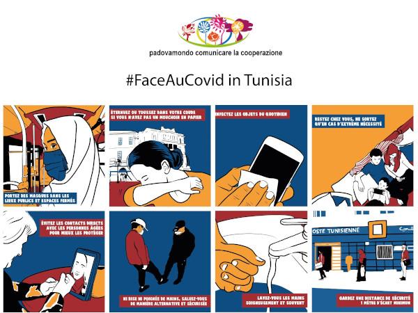 Da Padova in Tunisia e Somalia i fumetti di Claudio Calia contro il Covid-19 2