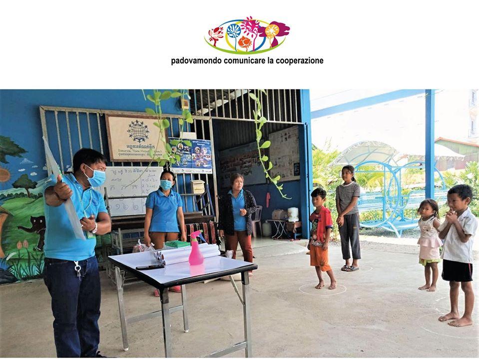 Con Mani Tese Padova andiamo in Cambogia: prevenire il Covid 19 fra i più piccoli