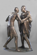 """Mostra """"Incontro e abbraccio nella scultura del Novecento da Rodin a Mitoraj"""""""