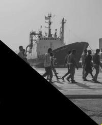 """Mostra fotografica """"Migrants risk all"""""""