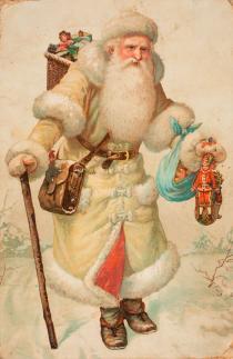 """Mostra """"Prima di Babbo Natale. Santa Claus nelle illustrazioni tra Ottocento e Novecento"""""""