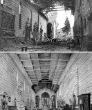 Il bombardamento della Chiesa degli Eremitani: prima e dopo