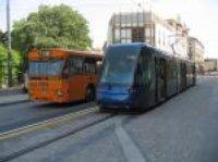 Tram in città