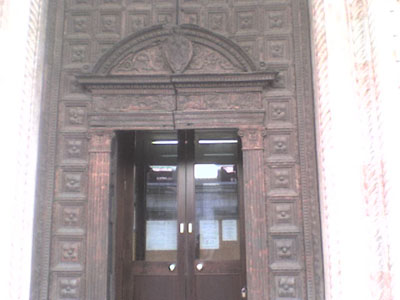 Chiesa di S. Maria dei Servi - Portale