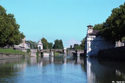 Ponte Portello visto dal Piovego - Ph Danesin
