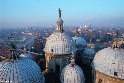 Padova dalle cupole di Santa Giustina_Ph Danesin