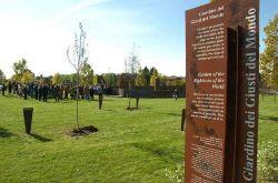 Cerimonia di riconoscimento dei Giusti 2010