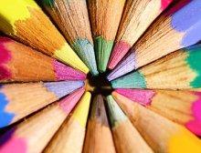 Matite colorate scuola infanzia bambini pedagogico 380 ant