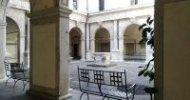 Cortile pensile di Palazzo Moroni 190x100