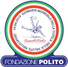 Logo Giornata mondiale tutela della salute nello sport 14 aprile 2019
