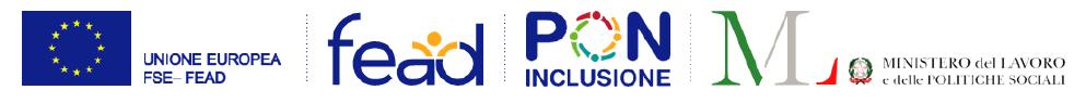 Loghi Progetto Pon inclusione - Po I Fead Dom Veneto