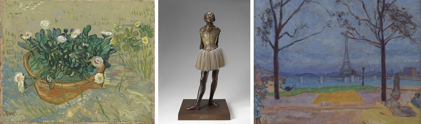 """Mostra """"Van Gogh, Monet, Degas."""