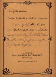"""Conferenza """"Italia, 1919"""""""