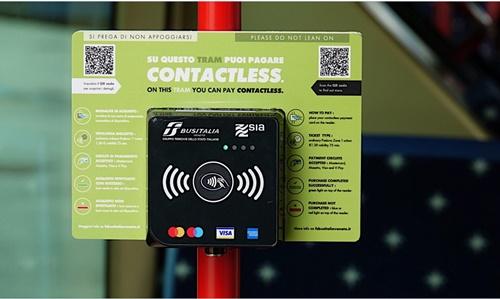 contactless tram