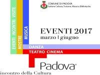 Format di Padova Cultura marzo giugno 2017