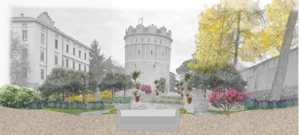 Progetto di riassetto e riqualificazione dei Giardini della Rotonda in piazza Mazzini 1