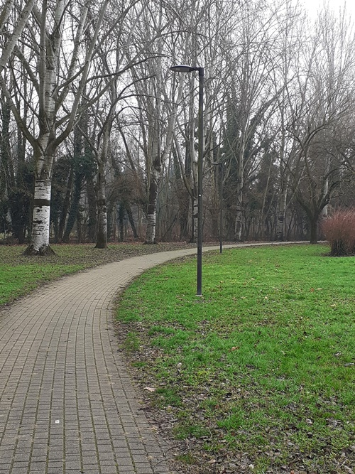 illuminazione parco Iris