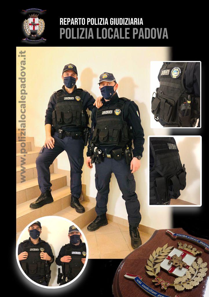 Polizia locale gilet antitaglio