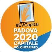 Padova Capitale europea del volontariato logo rotondo