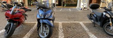 Moto motocicletta 380 ant