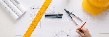 Edilizia progetto casa disegno cantiere 380 ant fotolia