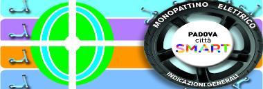 Monopattini logo padova città smart 380 ant