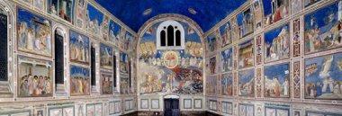 Cappella degli Scrovegni - affreschi di Giotto 380 ant