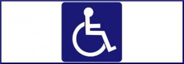 Contrassegno per persone con disabilità invalidi disabili 380 ant fotolia 39155614