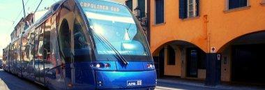 Tram linea sud trasporto 380 ant
