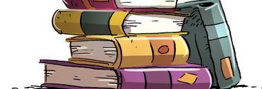 Libri libro volumi leggere 380 ant NO CORNICE