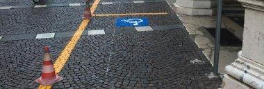 Parcheggio sosta disabili
