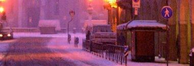 Neve strada città 380 ant