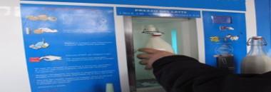Distributori semiautomatici e automatici di latte crudo