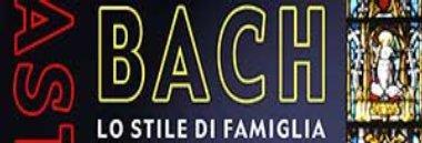 """logo masterclass """"Bach, lo stile di famiglia"""" 380 ant"""